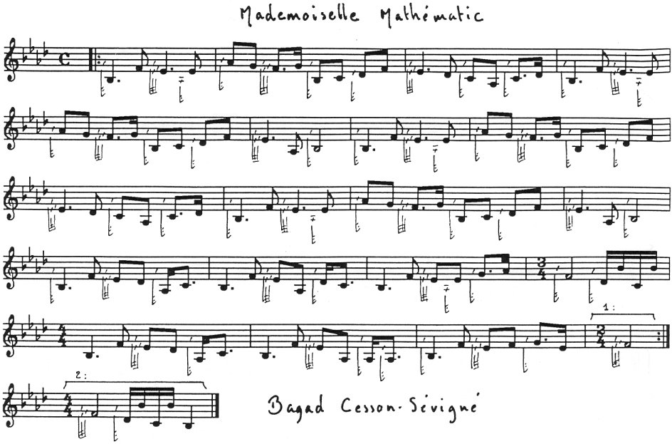 Mademoiselle Mathématic