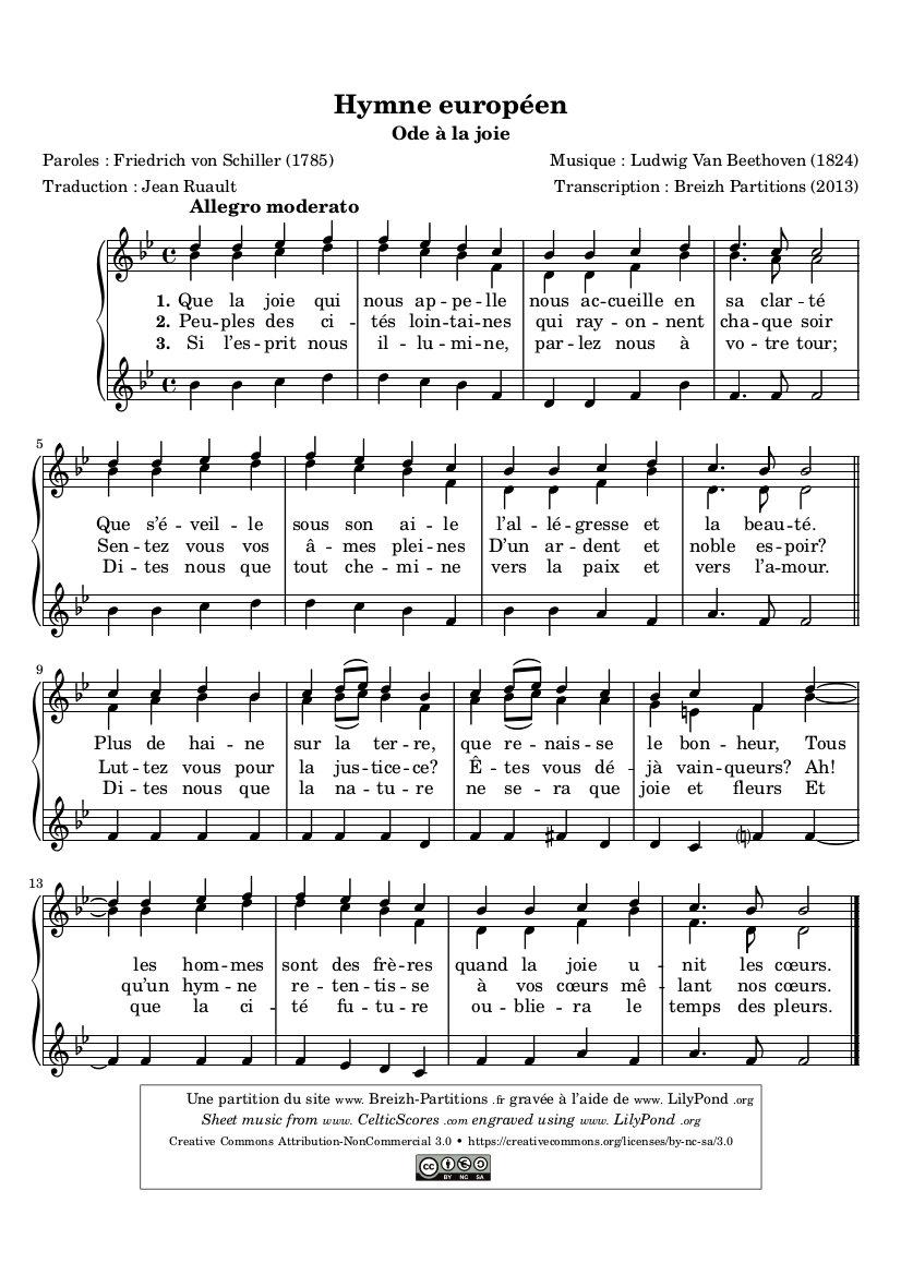 Hymne européen (Ode à la joie)