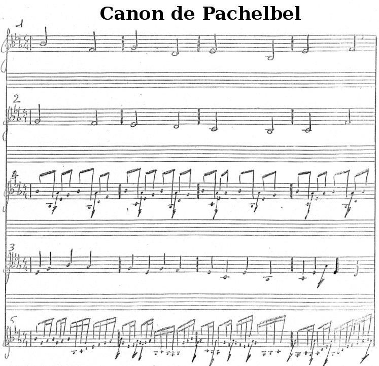 Kanon von Pachelbel