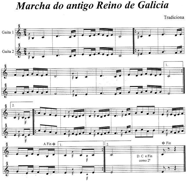 Marcha do antigo Reino de Galicia