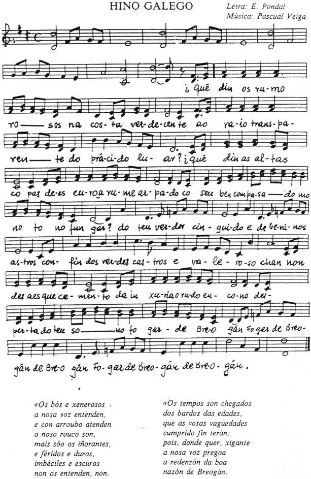 Os Pinos (hymne galicien)