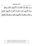Amazing Grace (notation écossaise) - 1