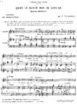 Quan le bouiè ben de laoura (chanson rustique) - 2