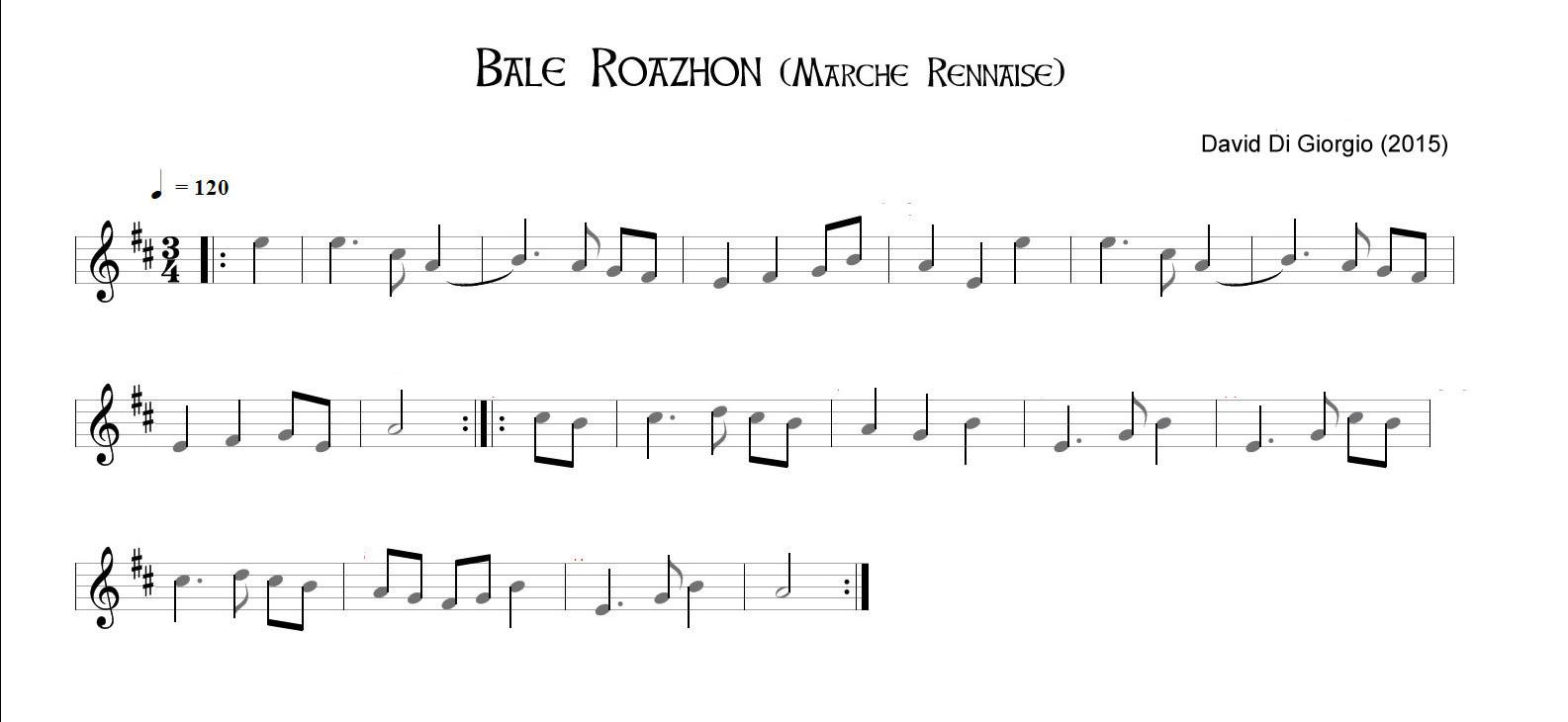 Bale Roazhon (marche rennaise)