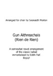 Gun Aithreachais (Non, je ne regrette rien) - 1