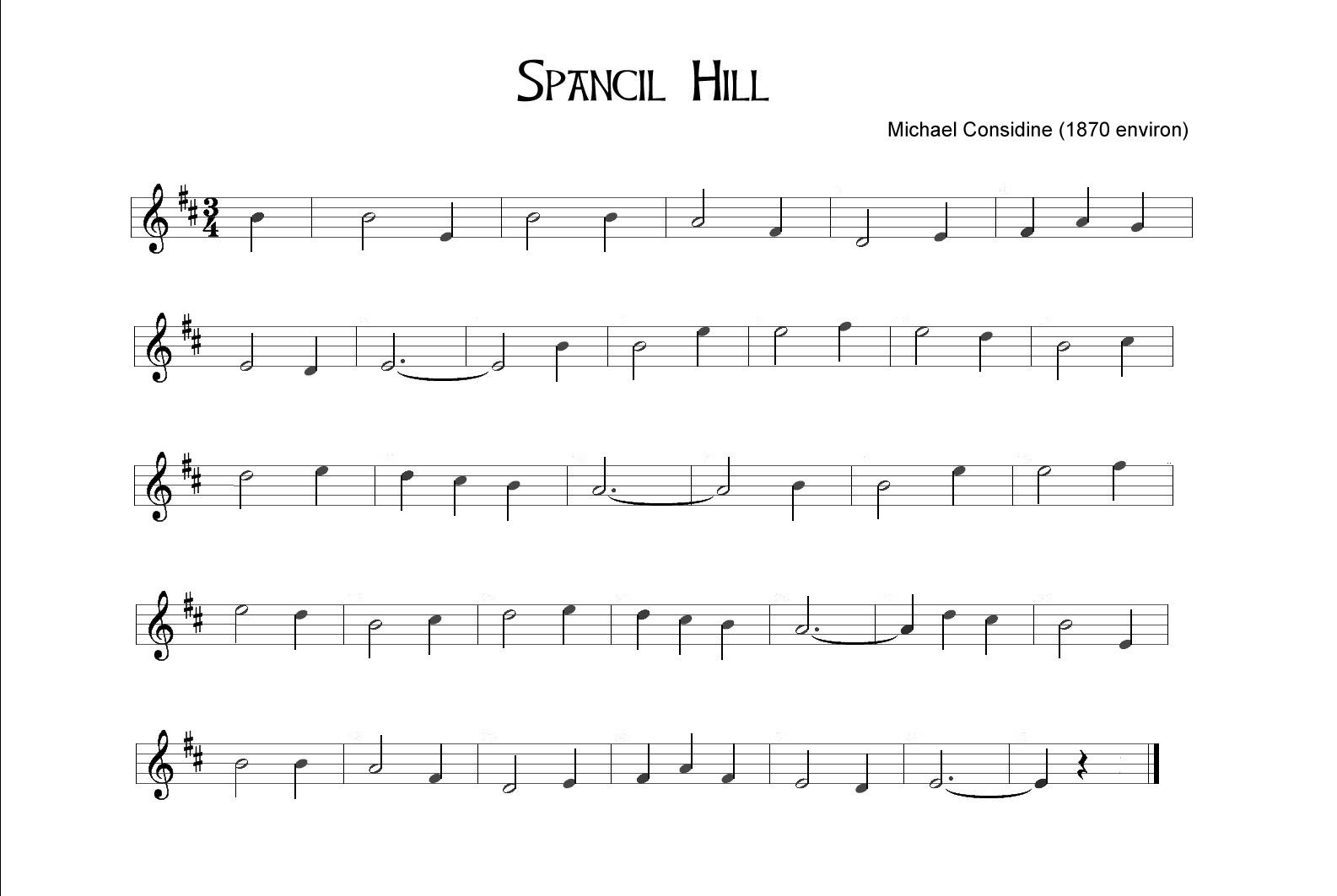 Spancil Hill
