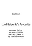 Lord Balgonie's Favourite - 1