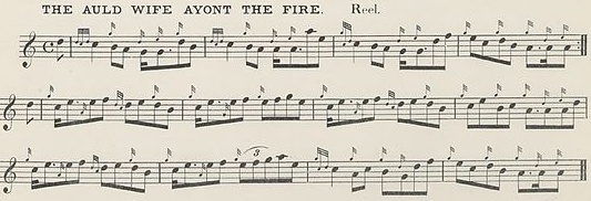 The Auld Wife Ayont the Fire