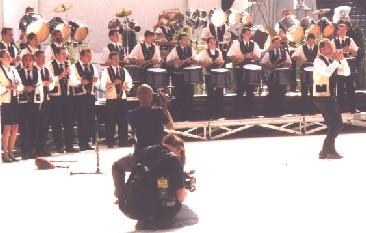 Photo Kerlenn Pondi au Festival Interceltique de Lorient 2000